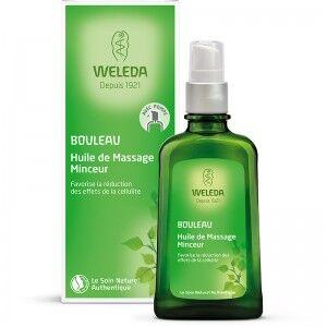 "Eyeslipsface ""Huile de massage minceur - Flacon pompe - 100 ml - WELEDA (13.5034) 100"""