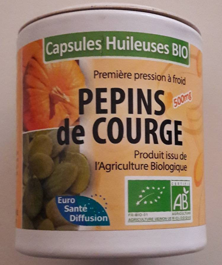 "Eyeslipsface ""Pépins de courge Bio - 100 capsules -ESD / PHYTOFRANCE (0.0000) 100"""