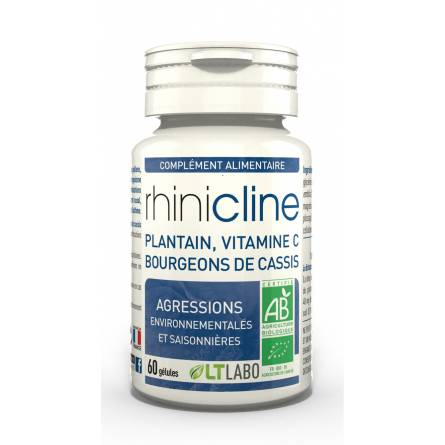 "Eyeslipsface ""Rhinicline bio - 60 gélules - LT LABO (0000) 60"""