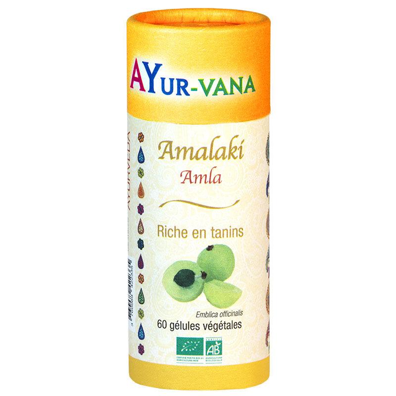 """Eyeslipsface """"Amalaki - 60 gélules - Extrait titré à 30% de tannins - AYUR-VANA (11001001) 60"""""""