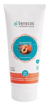 "Eyeslipsface ""Shampoing Abricot & Fleur de sureau BIO Tube 200 ml-BENECOS (228 33 014) 200"""