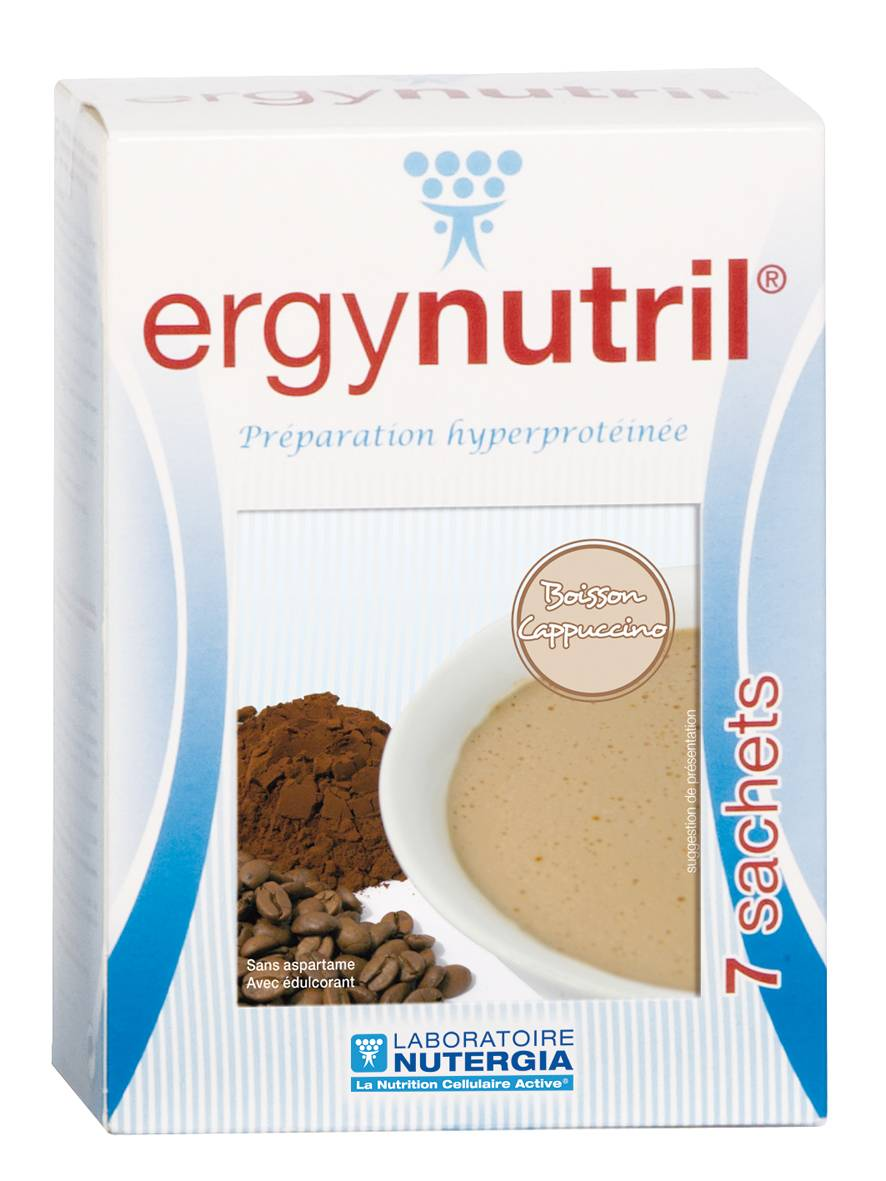 """Eyeslipsface """"Ergynutril Boisson Cappuccino - NUTERGIA (13.2938) 7"""""""