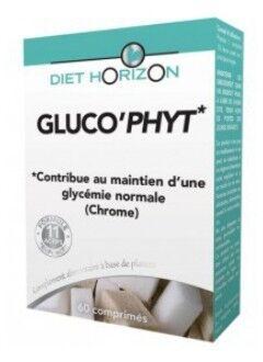 """Eyeslipsface """"Gluco'Phyt - 60 comprimés - DIET HORIZON (0000) 60"""""""