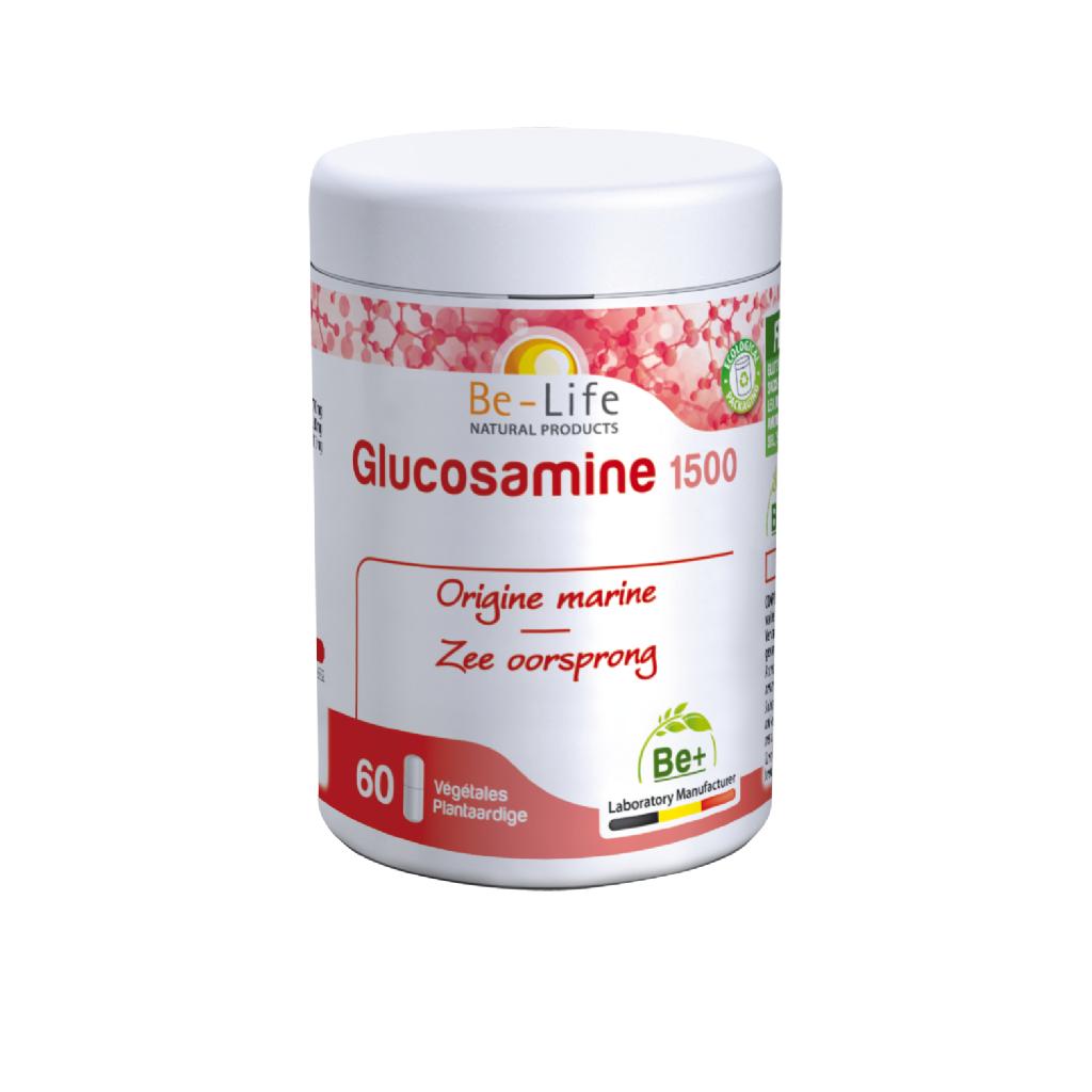 """Eyeslipsface """"Glucosamine 1500 60 gélules - BE-LIFE (27013075) 60"""""""