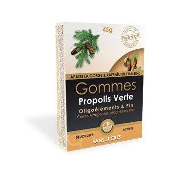 "Eyeslipsface ""Gommes Propolis Verte - Oligoélément & Pin - PROPOS NATURE (0000) 45"""