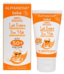 "Eyeslipsface ""Lait solaire bébé SPF 50+ Bio- 50g -ALPHANOVA (0000) 50"""