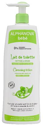 """Eyeslipsface """"Lait de toilette naturel Bébé Bio - 500 ml -ALPHANOVA (17838004) 500"""""""