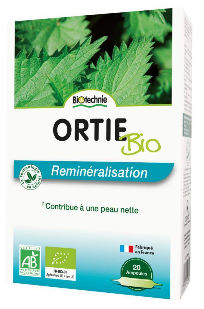 "Eyeslipsface ""Ortie BIO 20 ampoules - BIOTECHNIE (10 13 636) 20"""