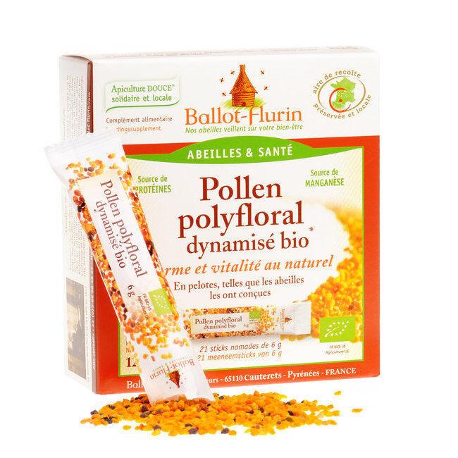 "Eyeslipsface ""Pollen polyfloral dynamisé en stick -BALLOT FLURIN (03115005) 21"""