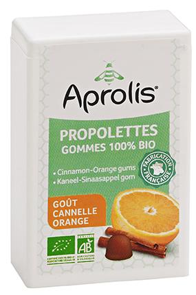 "Eyeslipsface ""Gommes tendres Bio propolettes Propolis Cannelle - Orange- 50g - APROLIS (0000) 50"""