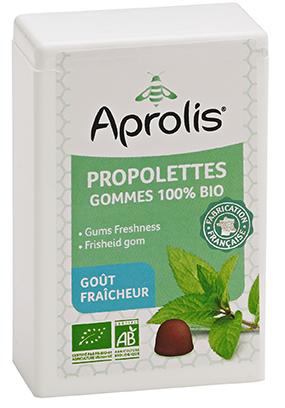 """Eyeslipsface """"Gommes tendres Bio propolettes Propolis Fraîcheur- 50g - APROLIS (0000) 50"""""""