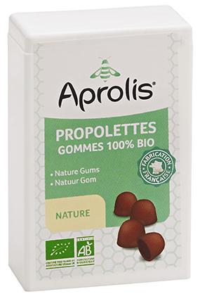 "Eyeslipsface ""Gommes tendres Bio propolettes Propolis Nature- 50g - APROLIS (0000) 50"""