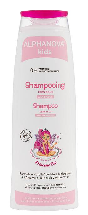"Eyeslipsface ""Shampoing Princesse Bio- 250ml -ALPHANOVA (0000) 250"""
