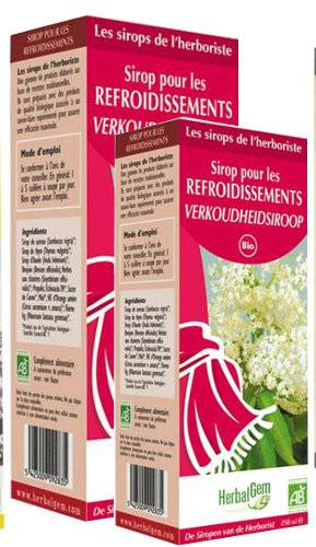 "Eyeslipsface ""Sirop pour les refroidissements-150 ml -HERBALGEM (6.0427) 150"""