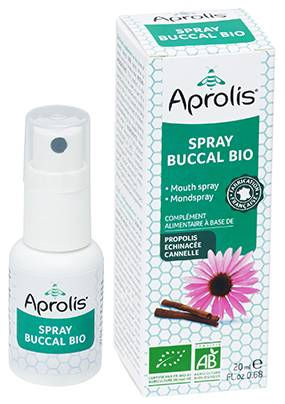 "Eyeslipsface ""Spray buccal Bio propolis, échinacéa, HE orange douce et thym-20ml -APROLIS (0000) 20"""