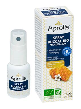 "Eyeslipsface ""Spray Buccal Bio miel de Manuka, propolis, thym- 20ml -APROLIS (0000) 20"""