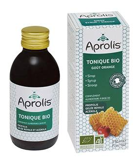 "Eyeslipsface ""Tonique sirop Bio : miel, propolis, gelée royale- 150ml -APROLIS (0000) 150"""