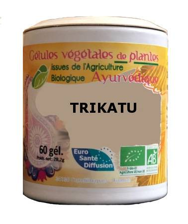 "Eyeslipsface ""Trikatu - 375 mg - 60 gélules - ESD / PHYTOFRANCE (0000) 60"""