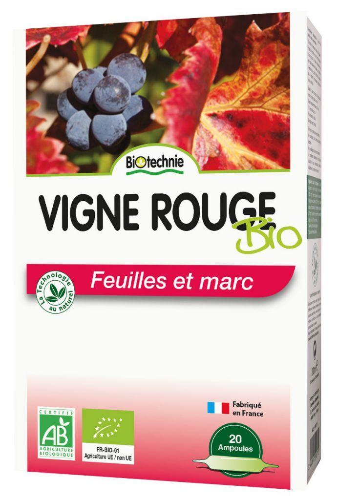 "Eyeslipsface ""Vigne rouge BIO 20 ampoules - BIOTECHNIE (01005563) 20"""
