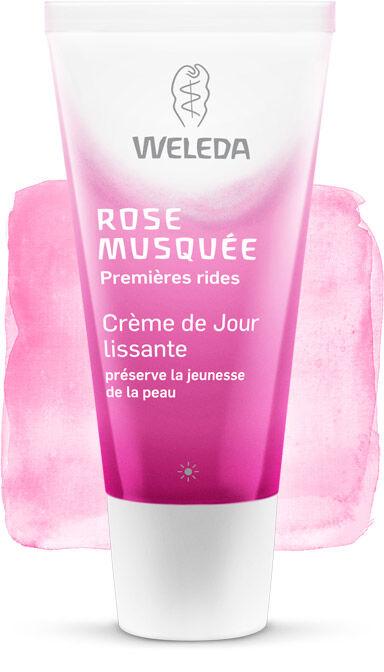 """Eyeslipsface """"Crème de jour lissante à la rose musquée- 30ml - WELEDA (12.7927) 30"""""""