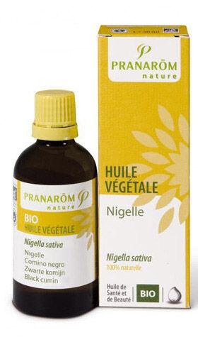 "Eyeslipsface ""Huile végétale Nigelle bio -1 l -PRANARÔM (0000) 1"""