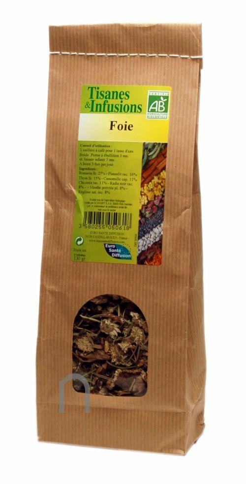 "Eyeslipsface ""Tisane et infusion Foie Bio - 130 g -ESD / PHYTOFRANCE (7.0900) 130"""