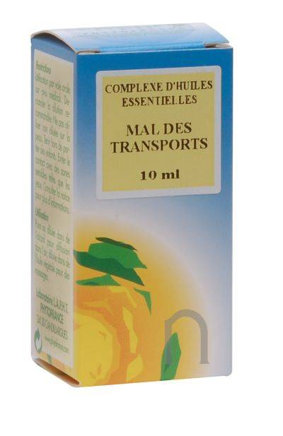 """Eyeslipsface """"Complexe d'huiles essentielles « Mal des Transports » - 10 ml - ESD / PHYTOFRANCE (6.3253) 10"""""""