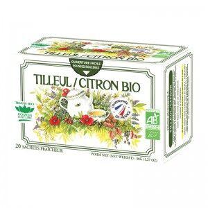 "Eyeslipsface ""Tisane Tilleul / Citron Bio - 20 sachets - ROMON NATURE (00519080) 20"""