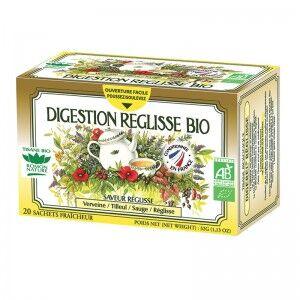 "Eyeslipsface ""Tisane Digestion Réglisse Bio - 20 sachets - ROMON NATURE (00519098) 20"""