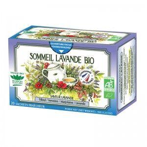 "Eyeslipsface ""Tisane Sommeil Lavande Bio - 20 sachets - ROMON NATURE (00519103) 20"""