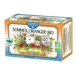 "Eyeslipsface ""Tisane Sommeil Oranger Bio - 20 sachets - ROMON NATURE (00519104) 20"""