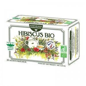 """Eyeslipsface """"Tisane Hibiscus Bio - 20 sachets - ROMON NATURE (00519471) 20"""""""