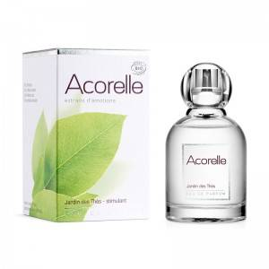 """Eyeslipsface """"Eau de parfum Jardin des Thés Stimulant Bio - 50 ml - ACORELLE (00631310) 50"""""""