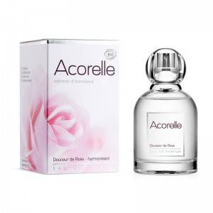 """Eyeslipsface """"Eau de parfum Douceur de Rose Harmonisant Bio - 50 ml - ACORELLE (00631355) 50"""""""