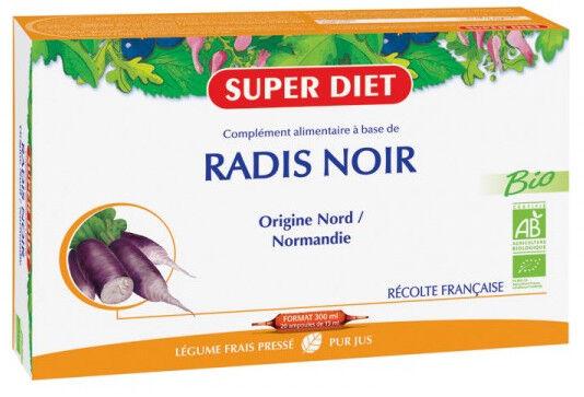 "Eyeslipsface ""Radis Noir Bio -20 ampoules -SUPER DIET (8.4597) 20"""