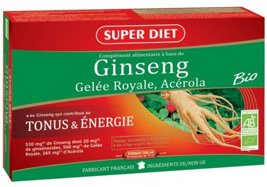 "Eyeslipsface ""Ginseng-Acérola-Gelée Royale Bio - SUPER DIET (23.7678) 20"""