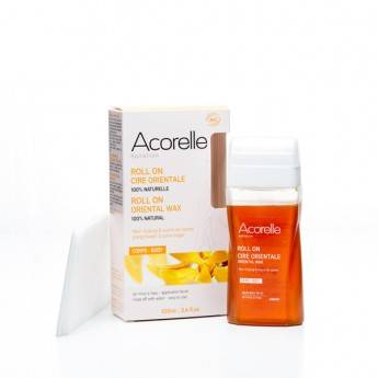 """Eyeslipsface """"Roll on cire Ylang Bio- 100ml + 10 bandes -ACORELLE (0000) 100"""""""