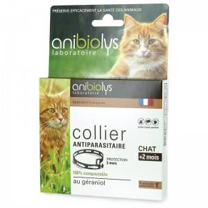 """Eyeslipsface """"Collier antiparasitaire chat - 35cm - ANIBIOLYS (11251052) 35"""""""