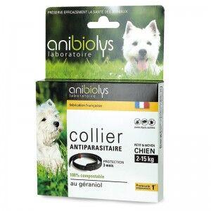 "Eyeslipsface ""Collier antiparasitaire petit et moyen chien - 41cm - ANIBIOLYS (11251077) 41"""