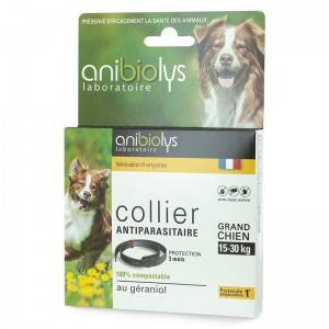 """Eyeslipsface """"Collier antiparasitaire grand chien - 60cm - ANIBIOLYS (11251075) 60"""""""