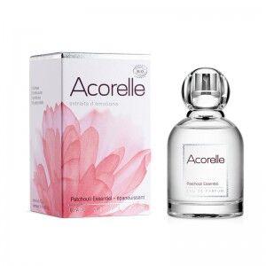 """Eyeslipsface """"Eau de parfum Patchouli Essentiel Bio - 50 ml - ACORELLE (00) 50"""""""