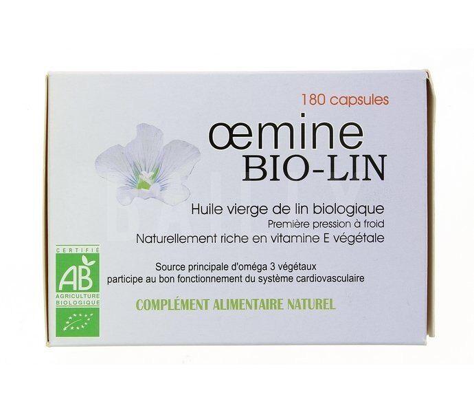 "Eyeslipsface ""Oemine Bio-Lin -180 gélules -PHYTOBIOLAB - OEMINE (0000) 180"""