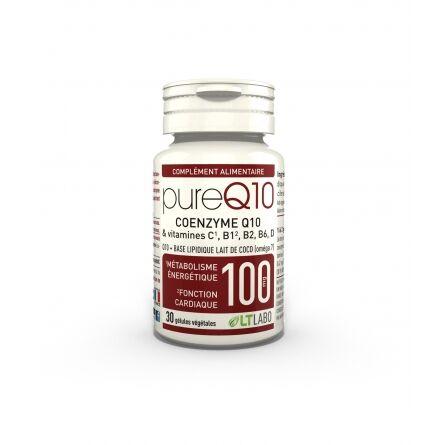 "Eyeslipsface ""Pure Q10 100 mg - 30 gélules - LT LABO (0000) 30"""