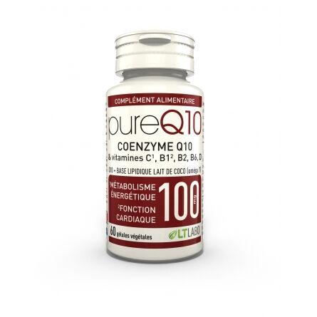 "Eyeslipsface ""Pure Q10 100 mg - 60 gélules - LT LABO (0000) 60"""