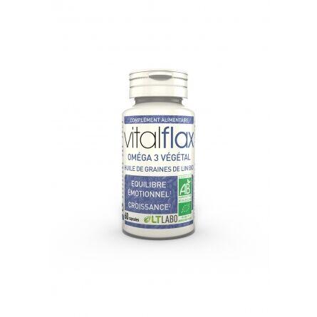 "Eyeslipsface ""Vital Flax bio - 60 capsules - LT LABO (0000) 60"""
