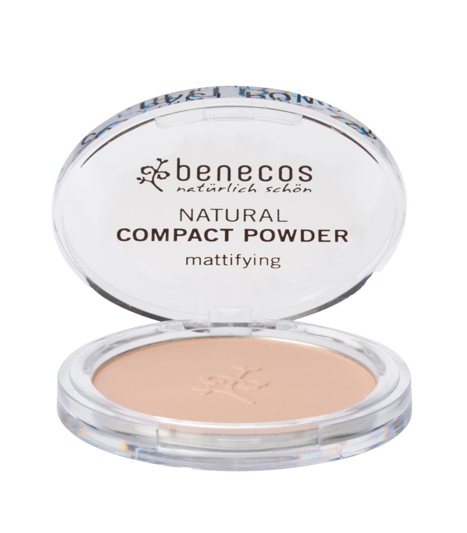 """Eyeslipsface """"Poudre compacte sable (sand) BIO - BENECOS (228 41 107) 9"""""""