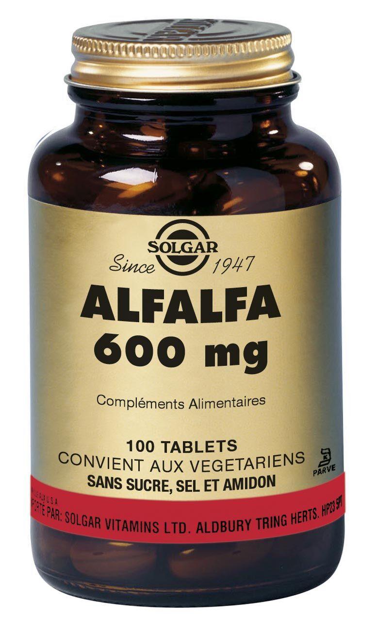 """Eyeslipsface """"Alfalfa - 600 mg - SOLGAR (7.8957) 100"""""""