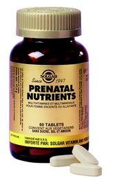 """Eyeslipsface """"Prenatal nutrients-120 comprimés -SOLGAR (22.1564) 120"""""""
