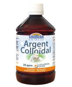 "Eyeslipsface ""Argent colloïdal Animaux 20 ppm naturel Flacon 500 ml-BIOFLORAL (105 23 301) 500"""