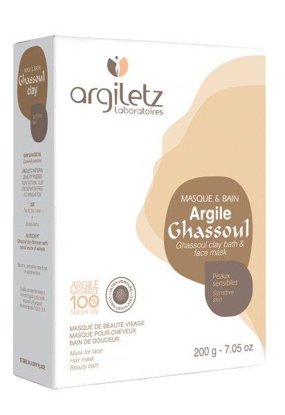 """Eyeslipsface """"Argile ghassoul ultra ventilée-200g - ARGILETZ (01831030) 200"""""""